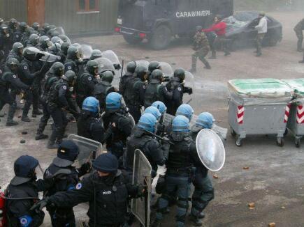 questa foto della prima azione sotto copertura di EUGENDFOR, è ora difficilmente rintracciabile in internet